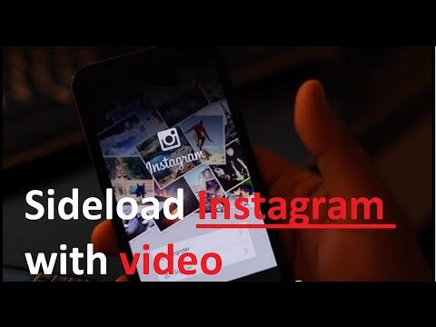 Instagram with video for Blackberry Z30 Q10 Z10 Q5 (Tutorial Sideload)