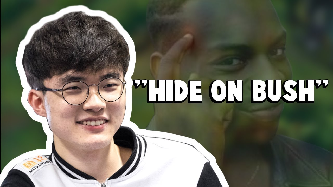 """This is What Faker Meant By """"Hide on Bush""""...   Funny LoL Series #173"""