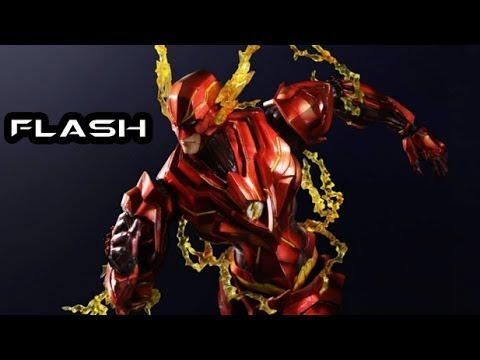 Play Arts Kai DC VARIANT FLASH Figure Review