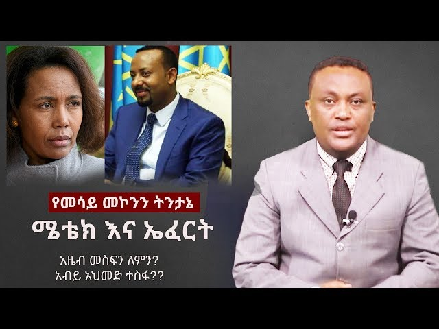 Mesay Mekonnen on METEC & EFFORT | Dr Abiy Ahmed | Azeb Mesfin | Asemelash Woldesilase