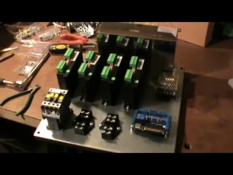 Сборка блока управления для ЧПУ плазмы. Комплектующие и внутреннее устройство