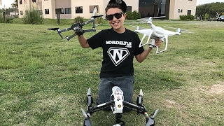 Los 3 Mejores Drones del Mundo! DJI Mavic Pro, DJI Phantom 4 & DJI Inspire