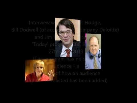 Jim Naughtie interviews Bill Dodwell (of Deloitte) and Margaret Hodge on corporate tax avoidance