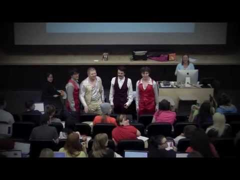 Oregon State Glee Choir's Flashmob of Human Sexuality May 28th, 2013