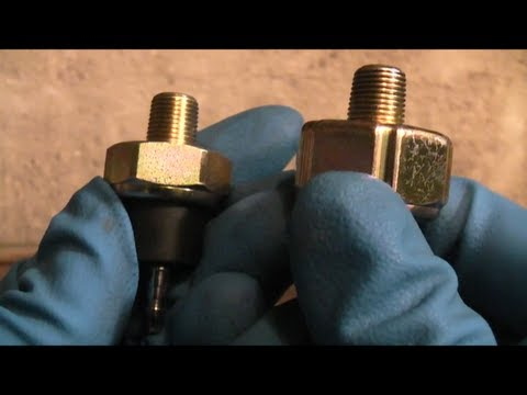 Honda Accord Oil Pressure Switch Replacement - YouTube