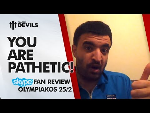 You Are Pathetic! | Olympiakos 2-0 Manchester United | Champions League REVIEW
