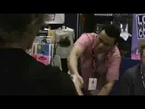Brent Corrigan Goes To Comic Con (for Doorq) video