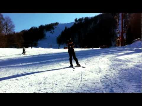 Skiing GoPro HD