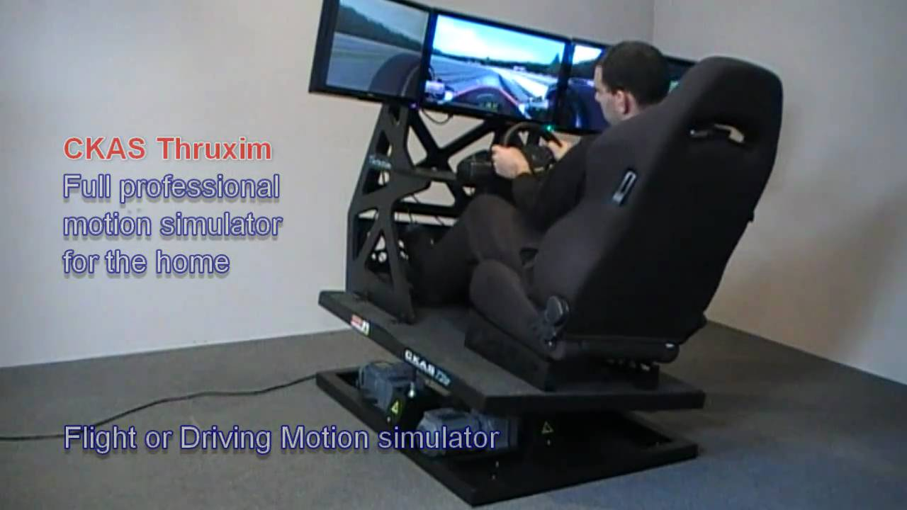 Ckas thruxim motion flight simulator and motion driving for Online house builder simulator