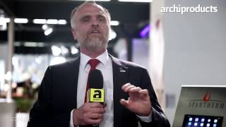 ISH Frankfurt 2017 | SPARTHERM - Cosimo Cereda talks about the fireplaces and the Premium line