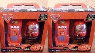 3D VIDEO: Cars 2 Gift Set with Candy Unboxing Surprise Eggs & Toys