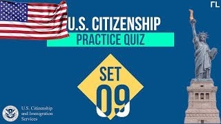 US Citizenship Practice Quiz (Set 9)