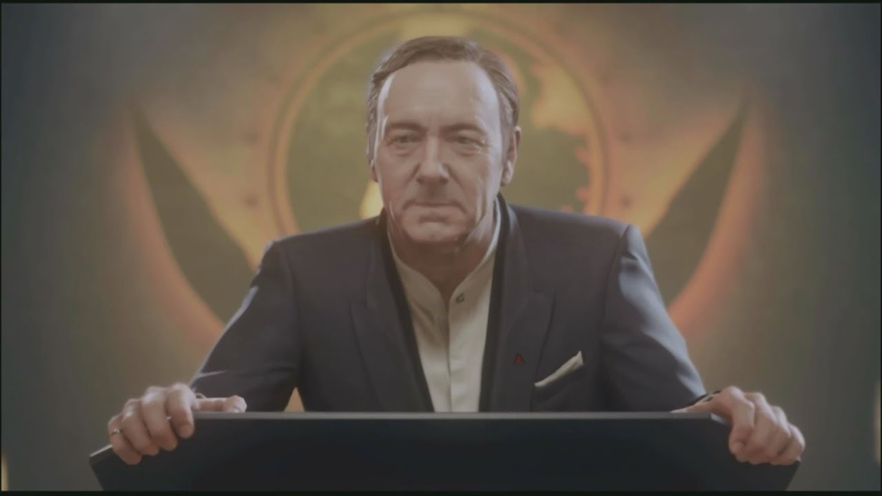 Call of Duty Advanced Warfare All Jonathan Irons Scenes ...