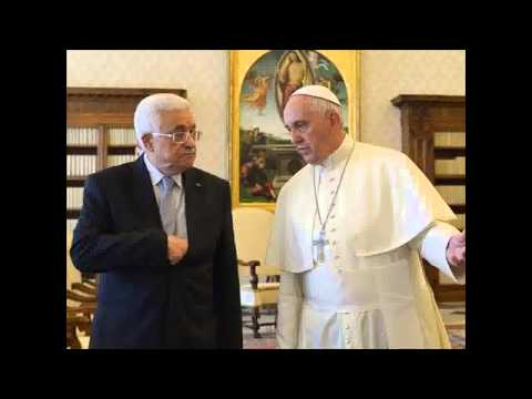 Pope Francis calls Palestinian President Mahmoud Abbas an 'angel of peace'