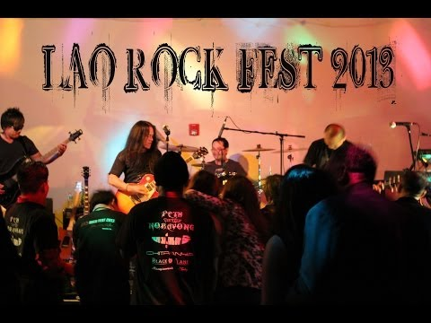 LAO ROCK FEST 2013   THE EXILE & NOOM SERY   CLIP 2 HD