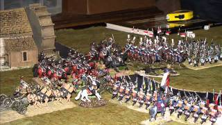Battle 65. Napoleonic Pitched Battle. (with commentary). Black Powder. 28mm.
