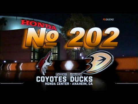 № 202 Arizona Coyotes - Anaheim Ducks
