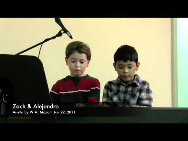 Alejandro's Winter Recital 2011