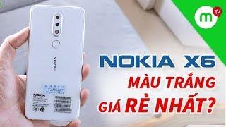 CHIÊM NGƯỠNG vẻ đẹp Nokia X6 trắng - Sự thật về mức giá rẻ màu trắng