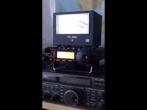 7Z1TT amateur station in Saudi Arabia Yaesu FT-857d & LDG FTL-Meter