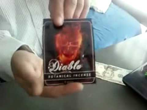 Diablo Herbal Incense Review pt 1