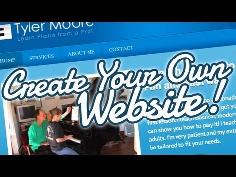 Create Your Own Website - 2013