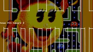Game Start - Ms. Pac-Man - Sega Master System -