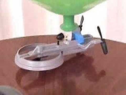 BalloonCraft - Amazing Micro Indoor RC Blimp Vehicle
