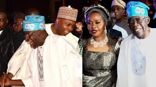 AT LAST BOLA TINUBU AND BUKOLA SARAKI FINALLY MEET AGAIN @ BOLA SHAGAYA 60TH BIRTHDAY