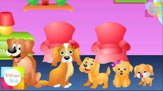 Gia Đình Đáng Yêu- Bé Học Tiếng Anh và Màu Sắc-Funny Baby