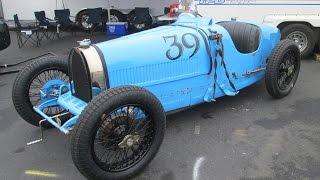 Ettore's Masterpiece ~ Bugatti Type 35 / 37 Grand Prix Racers ~ Sound & Detail Shots