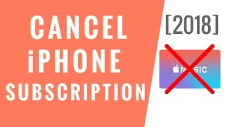 How to Cancel Subscription on iPhone! [2018]