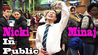 Download Lagu SINGING IN PUBLIC - NICKI MINAJ (Twerk in Public!!) Gratis STAFABAND
