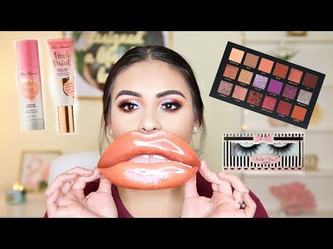 GET READY WITH ME: TRYING OUT NEW HIGH-END MAKEUP! HIT OR MISS?!   JuicyJas