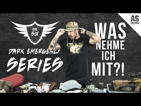 DARK EMERGENCY 6 - WHAT am I taking WITH ME?! WAS nehme ich MIT?!