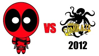 Deadpool vs Comikaze Expo 2012
