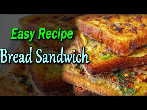 Bread Sandwich Recipe In Telugu I Easy Sandwich Recipes In Telugu I RECTV INDIA
