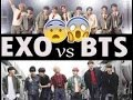 EXO vs BTS 2017-2018 Vol.1