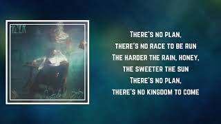 Hozier - No Plan (Lyrics)