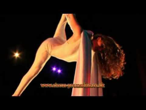 Aerial Silk Artist Presents Aerial Silks