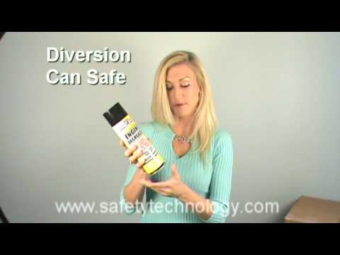 Engine Degreaser Diversion Can Safe - Shows how to access the secret compartment.