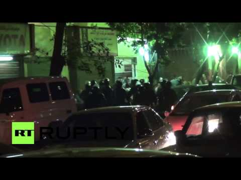 Egypt: Police tear gas protest against 'gifting' of two islands to Saudi Arabia