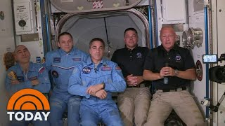 SpaceX Dragon Docks With International Space Station | TODAY