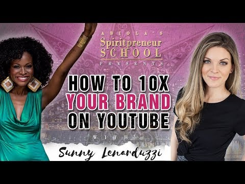 How to Build Your YouTube Channel and Personal Brand with Sunny Lenarduzzi