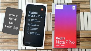 Redmi Note 7 Pro Unboxing | Space black Color | Purchase from Flipkart in First flash sale
