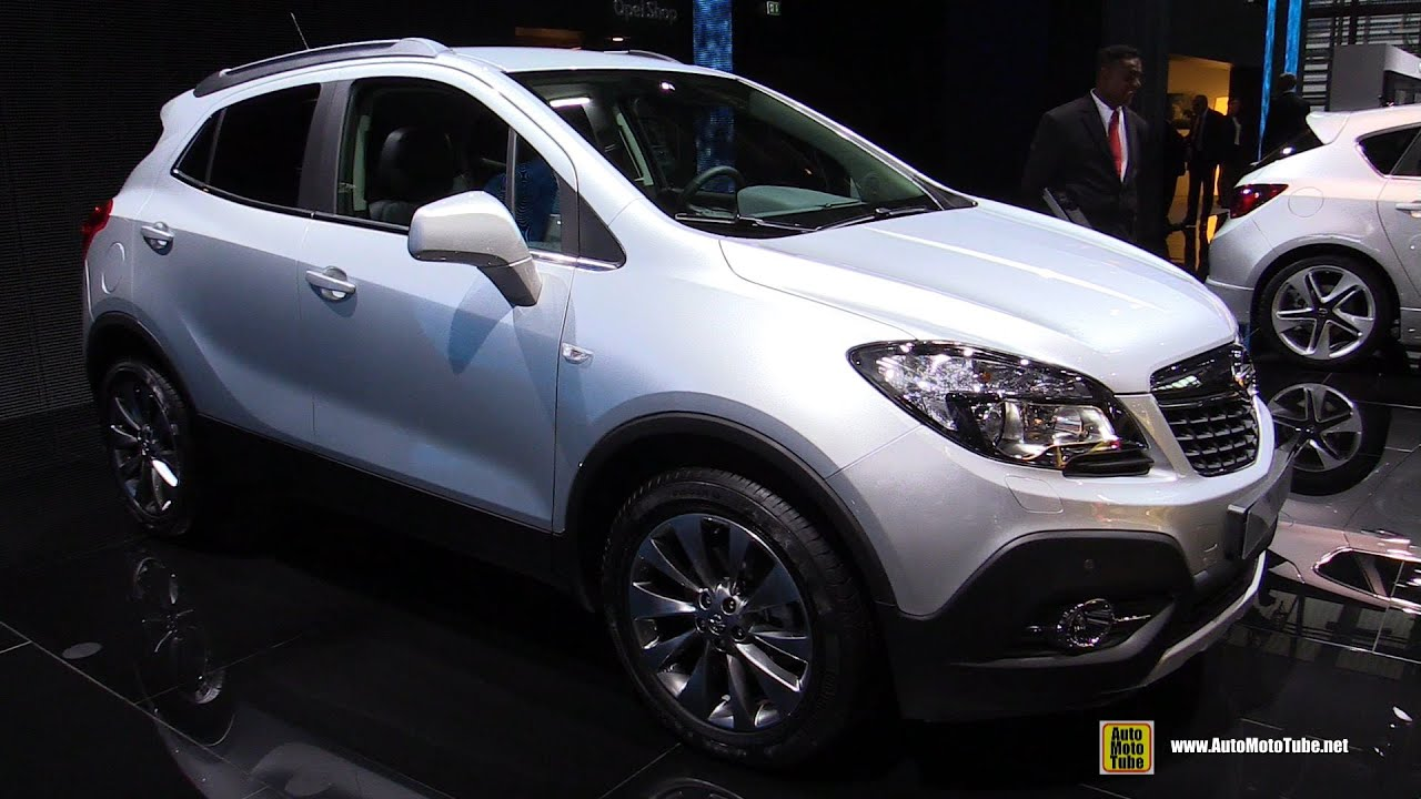 2015 opel mokka cdti diesel 4x4 exterior and interior walkaround 2014 paris auto show youtube. Black Bedroom Furniture Sets. Home Design Ideas