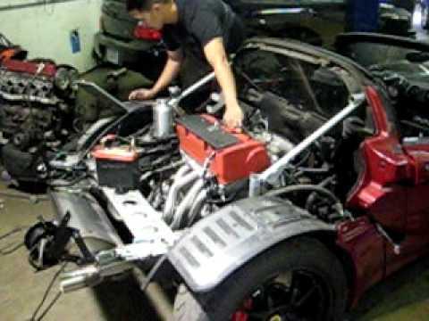 RS Motors K Series Lotus Elise  Start up