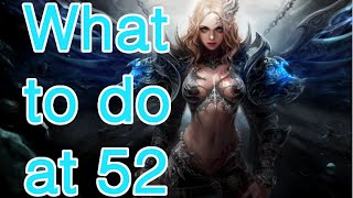 Devilian End Game - What to do at 52