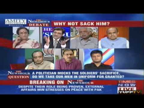 What has Congress done in 60 years for Martyrs   Arnab to Rita Bahuguna