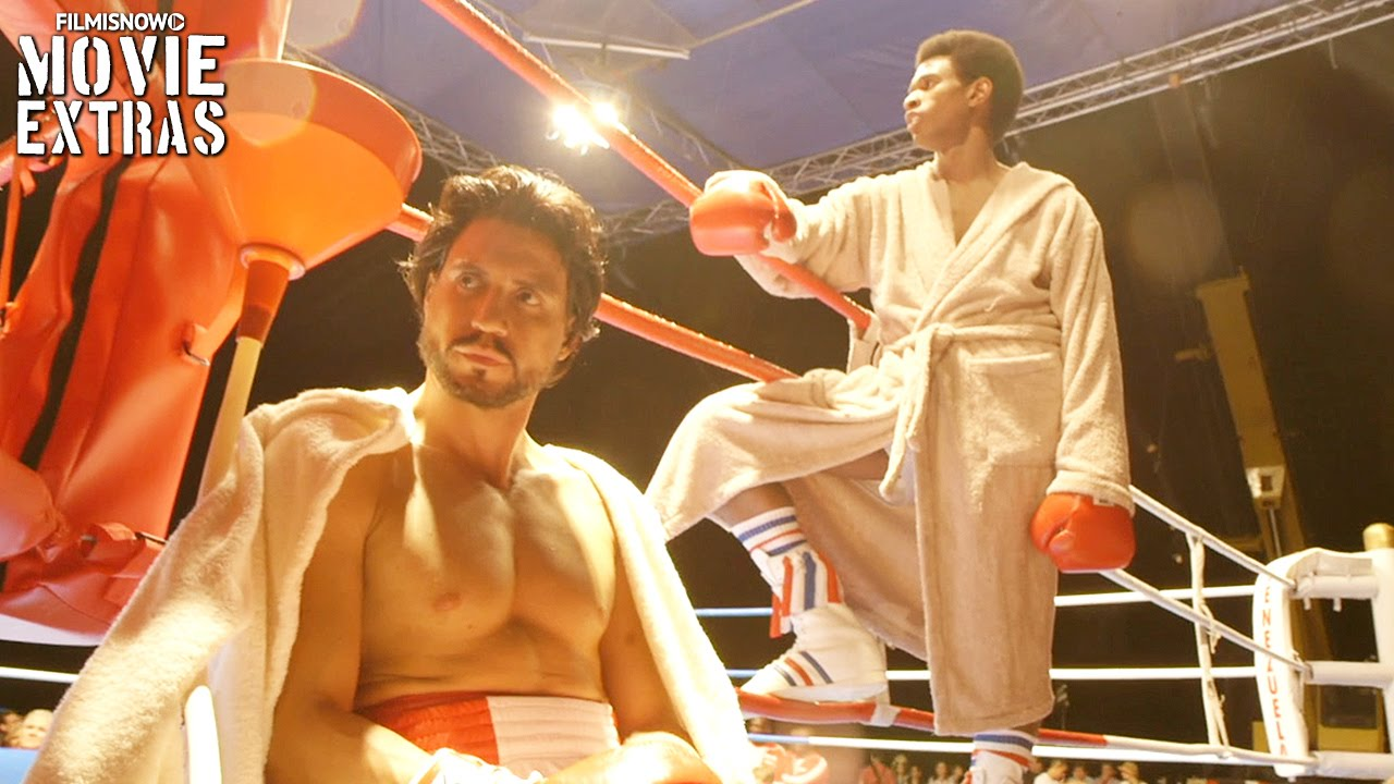 Go Behind the Scenes of Hands of Stone (2016)